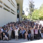 Campus Creativo recibió a sus nuevos alumnos con mote con huesillos, stencil y grafitti