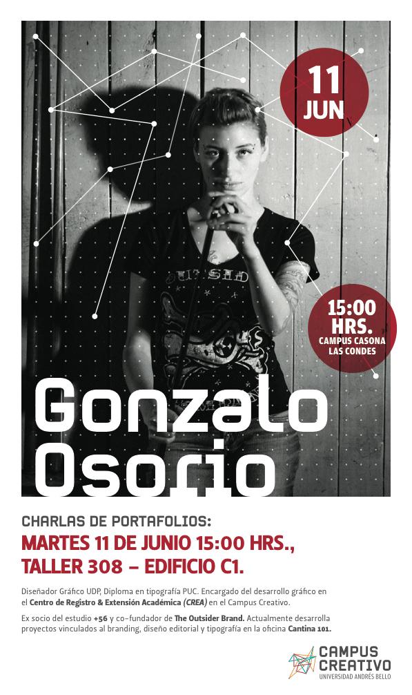 Diseñador Gráfico Gonzalo Osorio
