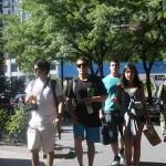 Workshop School of Visual Arts Estudiantes caminando