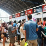 Última jornada de la Feria de la Postulación y Admisión 2014 en Estación Mapocho