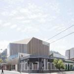 Nuevas Instalaciones Campus Creativo vista desde calle