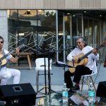 Ángel Parra Padre y Javiera Parra en Campus Creativo