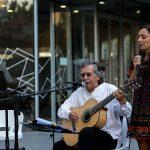 Ángel Parra Padre y Javiera Parra