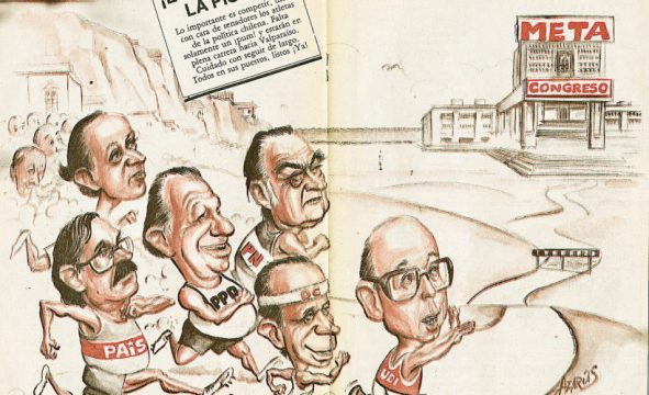 Caricatura política en Chile