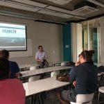Patricio Hidalgo visitó Campus Creativo