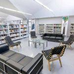 Infraestructura Campus Creativo: Biblioteca sillas