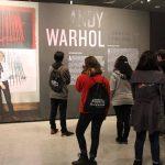 Visita muestra Andy Warhol