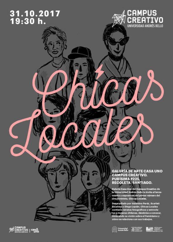 Chicas Locales: Zine Feminista + Expo en Galería