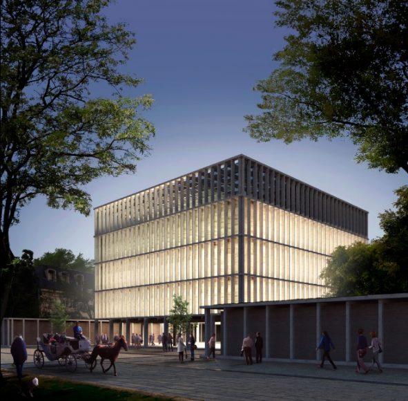 Nuevo edificio municipal de Providencia