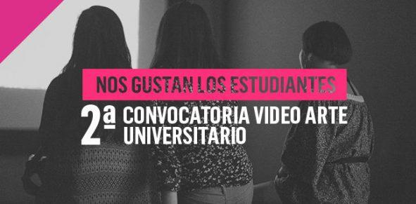 Segunda convocatoria vídeo arte universitario