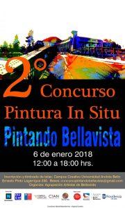 """concurso de pintura """"In Situ: Pintando Bellavista"""""""