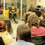 el actor nicolás rojas de zamudio visitó campus creativo