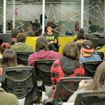 """Protagonista de la serie """"Zamudio"""" visitó el Campus Creativo"""