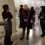 Alumnos de Artes Visuales participan en actividad con Paz Errázuriz
