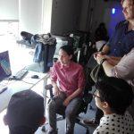 Alumnos de Diseño de Juegos Digitales reciben la visita del animador chileno de Pixar