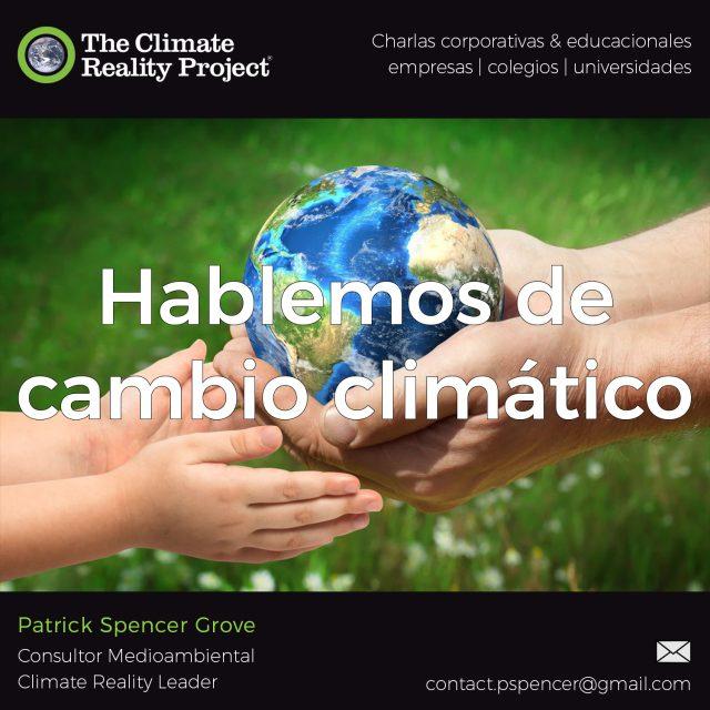 Hablemos del cambio climático