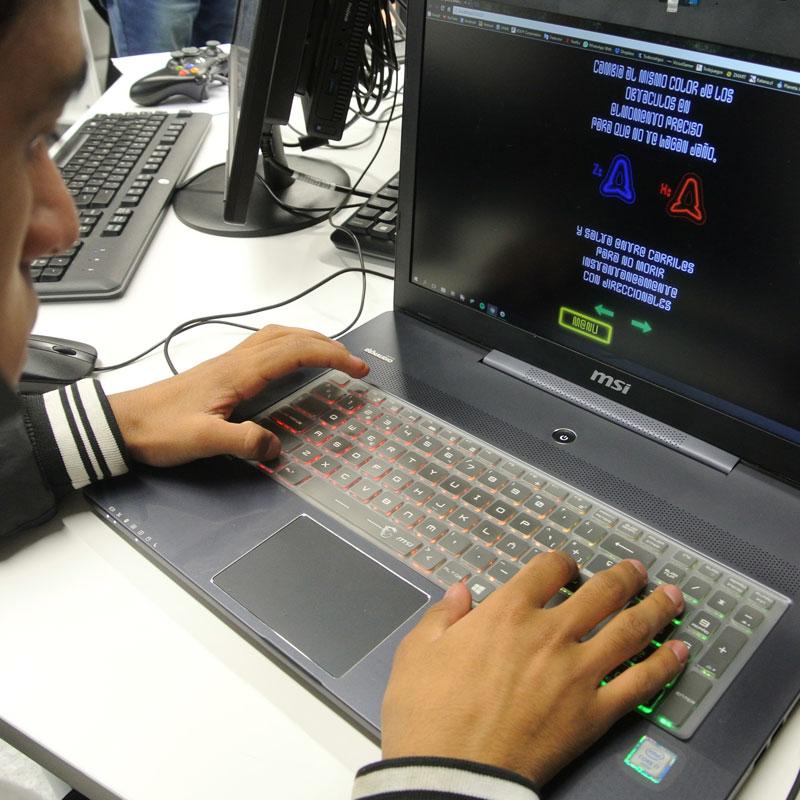 Creación de juegos en la carrera diseño de juegos digitales