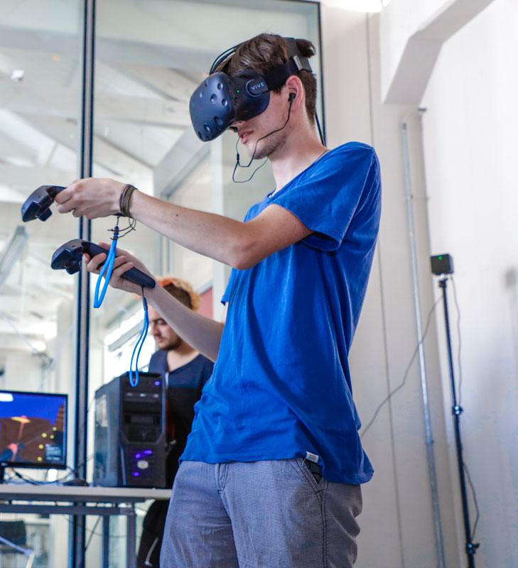 realidad virtual diseño de juegos digitales