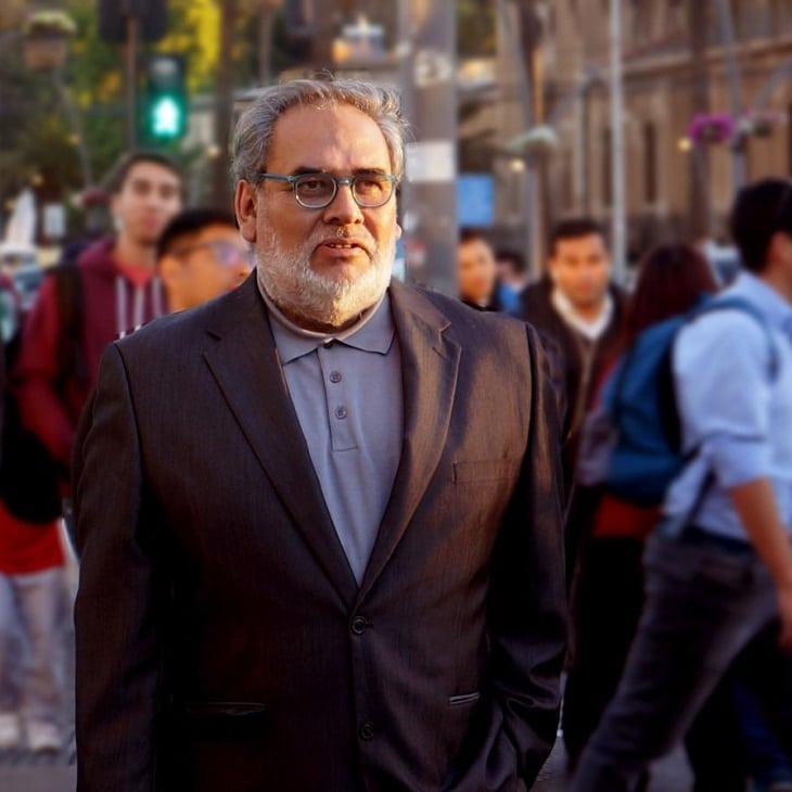 Hugo Rojas docente Diseño UNAB